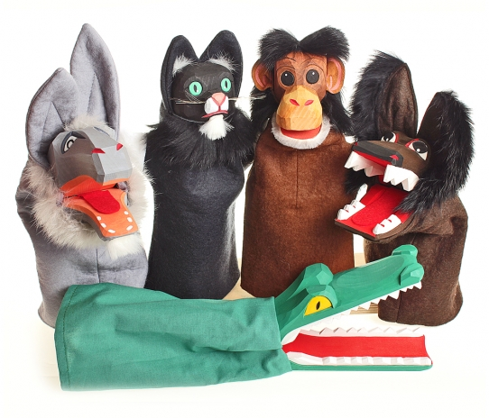 hand puppet Tiere