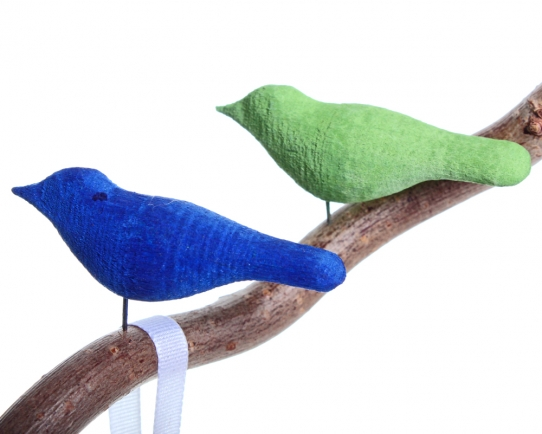 Small Wooden Birds