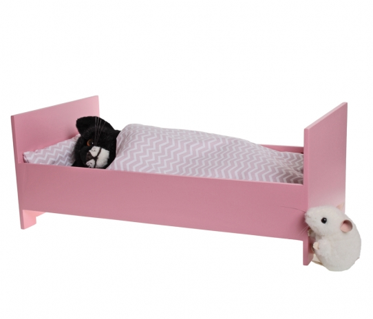 Doll's Bed, pink
