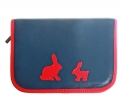 Pencil Case with rabbits