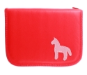 Pencil case with horse
