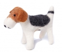 little Felt Dog Foxterrier