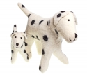 little Felt Dog Dalmatien