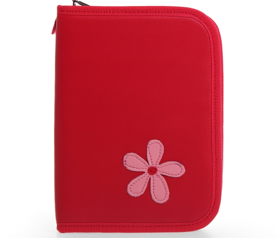 Pencil Case with Flower