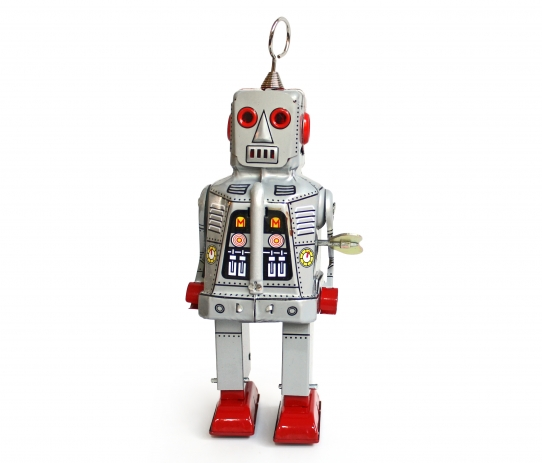 Robot Large Silver