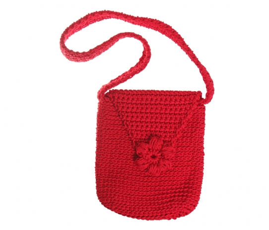 Handcrocheted children´s bag