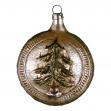 Christmas ornament with tree
