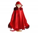 Bird Cape in red and blue