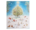 Advents Calendar Animals in the Forest